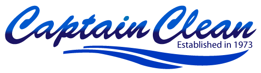 the captain clean logo